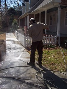 pressure washing Mcdonough Georgia
