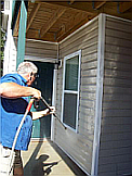 Locust grove house washing
